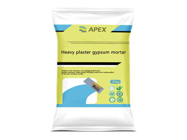 Heavy Plaster Gypsum Mortar